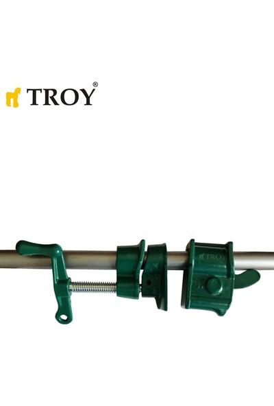 Troy 25049 Tezgah Boru Tipi Işkence Seti 3/4''