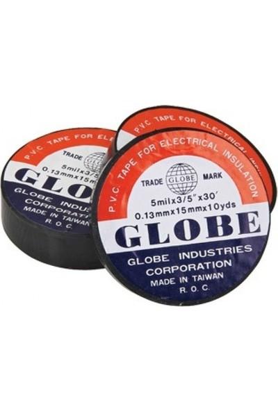 Globe Elektrik Bant Siyah 19 mm