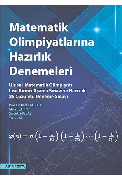 Altın Nokta Yayınları Lise Matematik Olimpiyatlarına Hazırlık Denemeleri