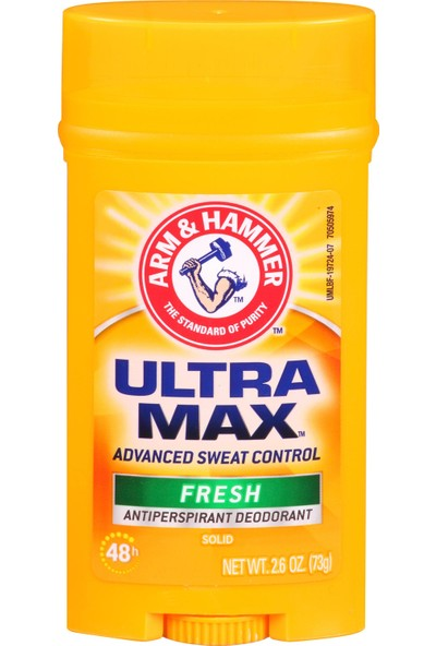 Arm & Hammer Ultramax Solid Wide Stick Antiperspirant Deodorant