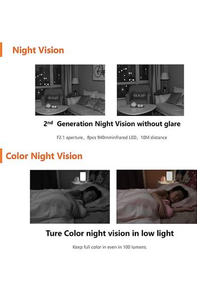 Imilab Cn Sürümü Akıllı Kamera Kızılötesi Gece (Yurt Dışından)