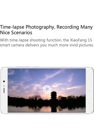 Xiaomi Hualai Xiaofang Akıllı Kamera 1S (Yurt Dışından)