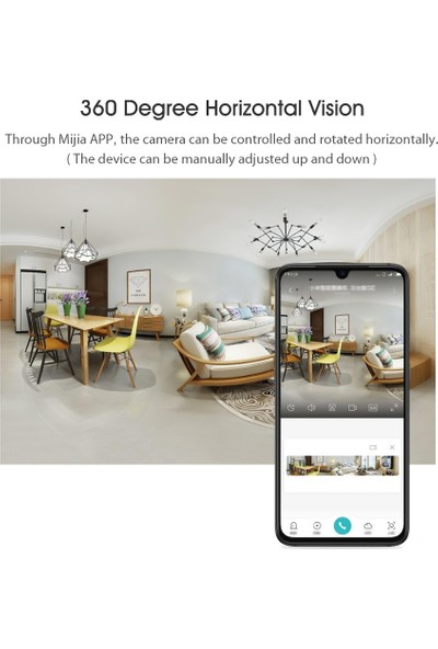 Xiaomi Mi Akıllı Kamera Ptz Se MJSXJ08CM 1080 P HD (Yurt Dışından)