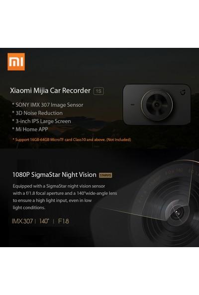 Xiaomi Mijia Araba Kaydedici 1 S 1080 P Çizgi Kam Carcorder (Yurt Dışından)