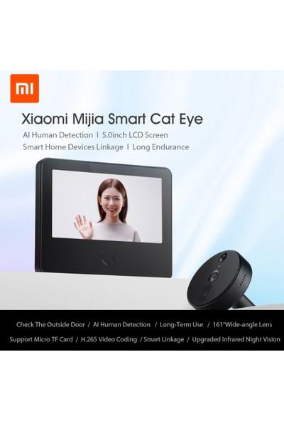 Xiaomi Mijia Akıllı Kamera Kapı Zili Cat Eye Kızılötesi (Yurt Dışından)