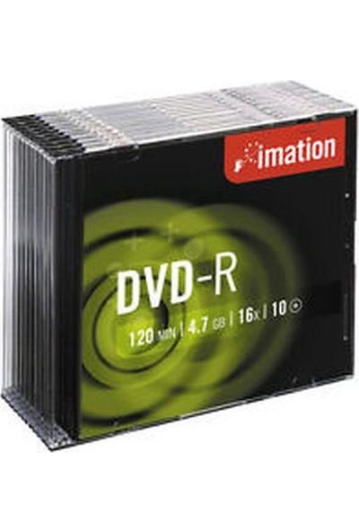 Imation Dvd-R 4.7 GB 16X Slim Kutu 10'lu Paket