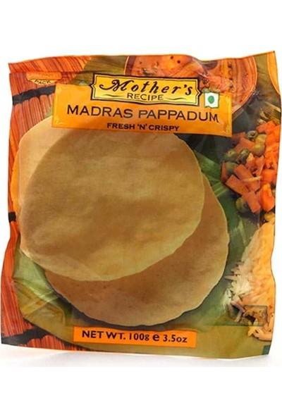 Mother's Recipe Pappadum Mercimek Unu Ekmeği 100 gr
