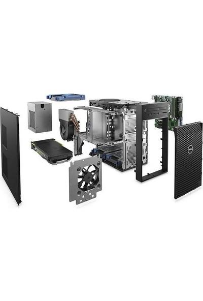 Dell Precision T3630 Intel Xeon E2274G 32GB 1TB + 256 SSD P2200 Windows 10 Pro Masaüstü Bilgisayar T3630T26481B
