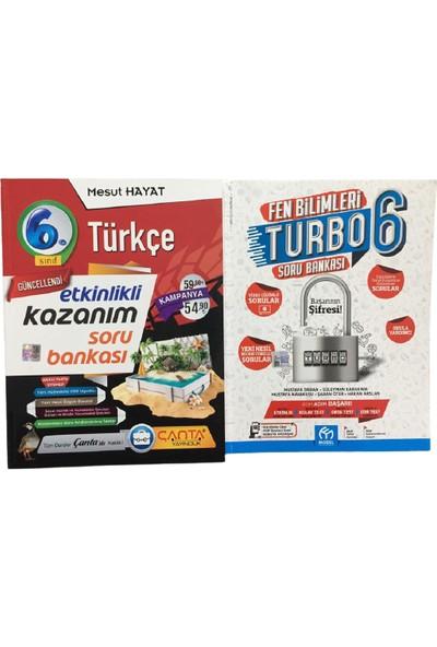 Çanta Yayınları Türkçe Soru Bankası 6. Sınıf - Fen Bilimleri Soru Bankası 6. Sınıf