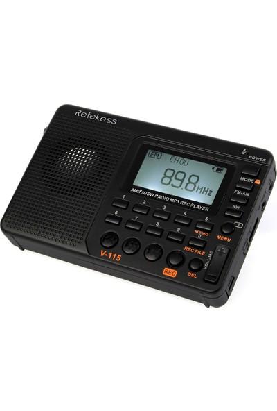 Retekess Uyku Zamanlayıcısı V-115 Fm / Am Radyo (Yurt Dışından)