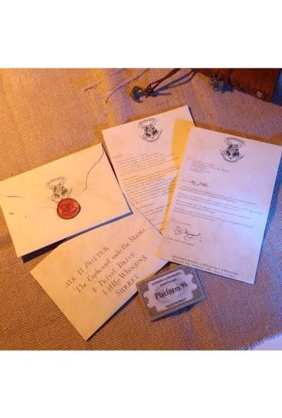 Tekinhediyelik Harry Potter Asa ve Davet Mektubu