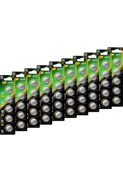 Gp CR2016 3V Düğme Pil Lıtyum 5'li Blister 10 Kart 50 Adet
