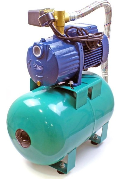 Pedrollo 4cpm 100-C Sessiz Paket Hidrofor 5 Kat 12 Daire 24 Litre Tanklı