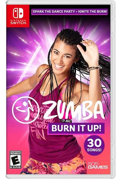 Zumba Burn It Up Nintendo Switch Oyun