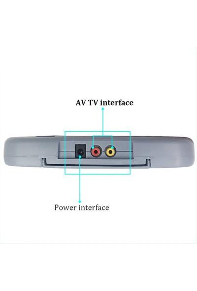 Zabata 8 Bit Televizyon Atarisi Retro Oyun Yüklü Kaset Takılabilir Ateri