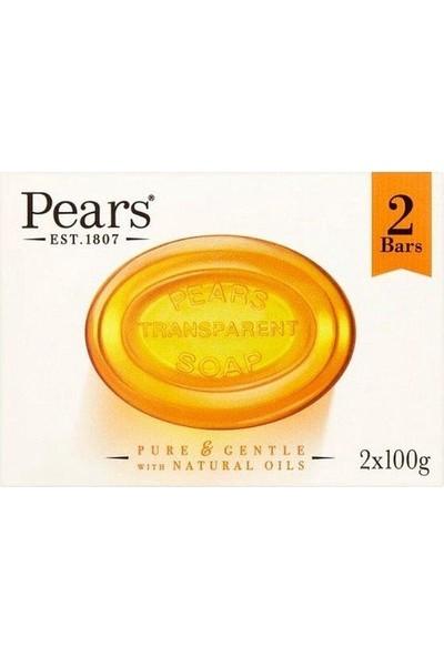 Pears Katı Sabun Amber 100 gr x 2