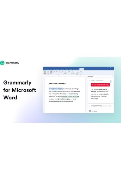 Grammarly Premium 1 Yıl Hesap Eğitim Yazılımı
