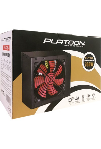 Platoon PL-9266 700W Power Supply