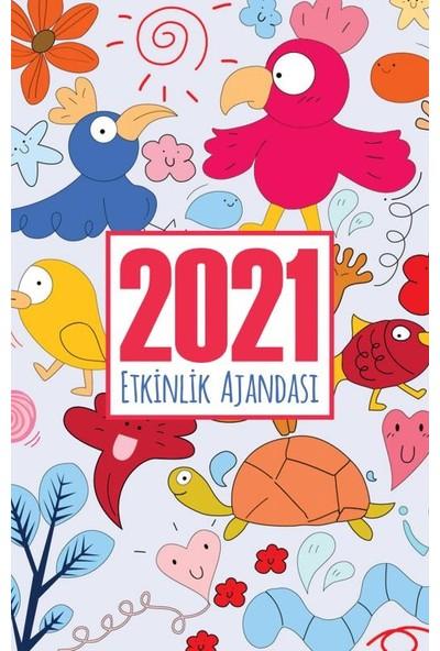 Halk Kitabevi 2021 Akademik Ajanda / Neşeli Hayvanlar