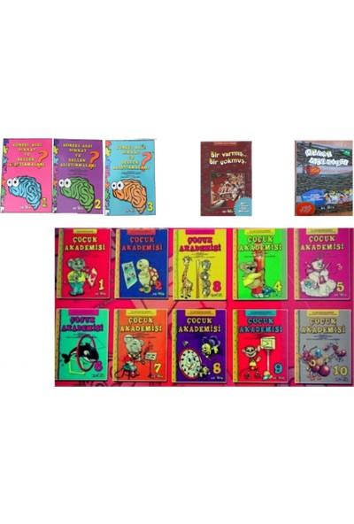 Vanilya Görsel Algı ve Bellek Alıştırmaları + Çocuk Akademsi Seti (10 Kitap)+ Bir Varmış Bir Yokmuş Her Güne Bir Masal + Bilgi Anahtarı Aile Katılım Kitabı