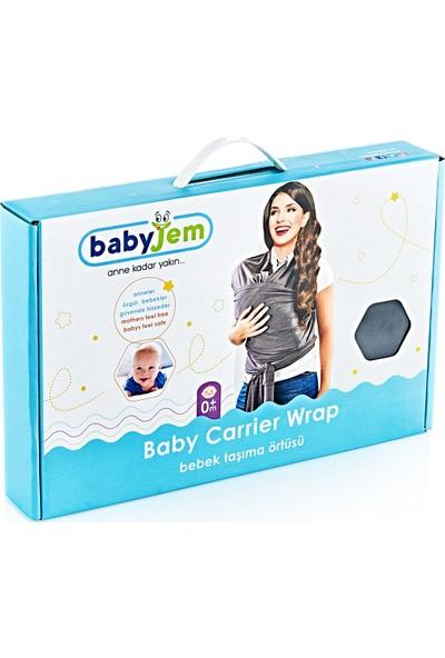 Babyjem Bebek Taşıma Örtüsü Gri