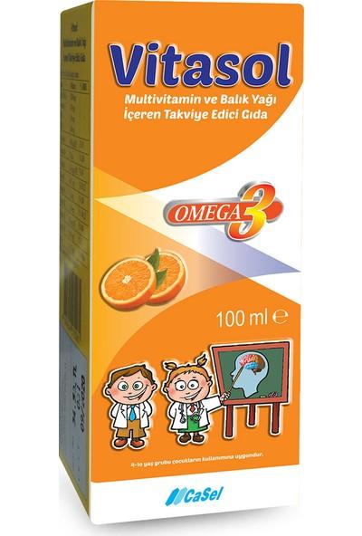 Vitasol Balık Yağı Multivitamin Şurup 100 ml