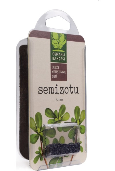 Osmanlı Bahçesi Semizotu Tohumu + Organik Solucan Gübresi Paketi