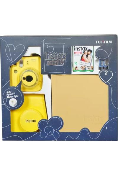 Fujifilm Instax Mini 9 Box Sarı Anlık Şipşak Kutulu Kit