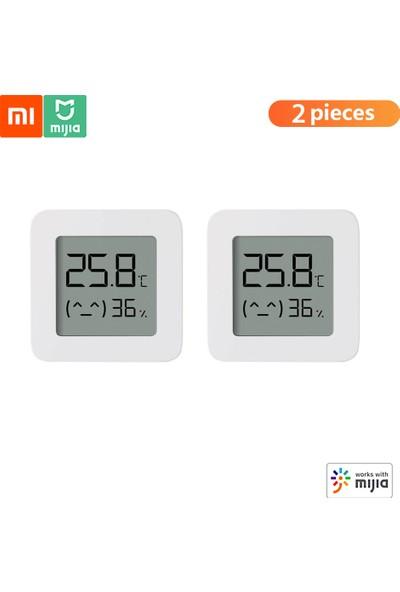 Xiaomi 2 Adet Xiaomi Bt Termometre 2 Kablosuz Akıllı Elektrikli