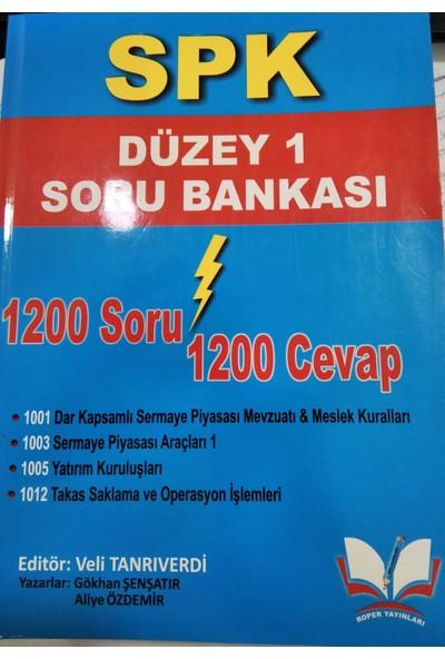 Roper Yayınları SPK Düzey 1 Soru Bankası