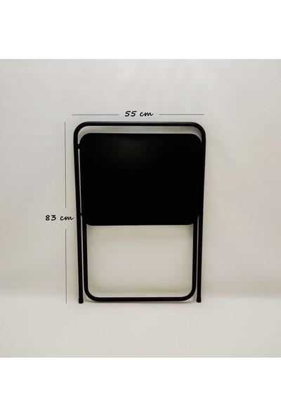 Hastunç Katlanır Portatif Siyah Dizüstü Laptop Masası