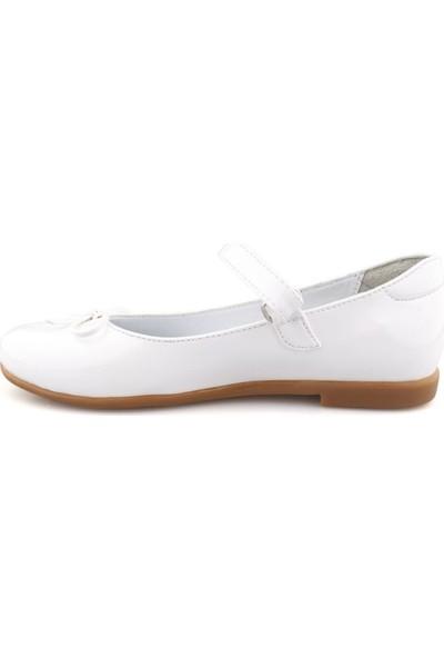 Cici Bebe Beyaz Rugan Kız Çocuk Ayakkabı 1000891KI-BYZ-RG-E