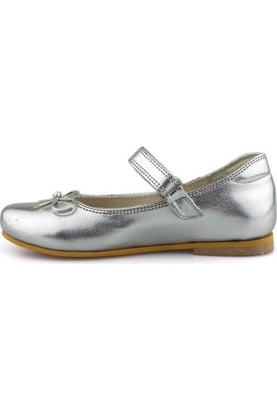 Cici Bebe Gümüş Kız Çocuk Ayakkabı 1000891KB-GMS-E