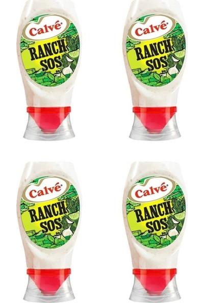 Calve Ranch Sos 245 gr x 4 (Toplam 980 Gr)