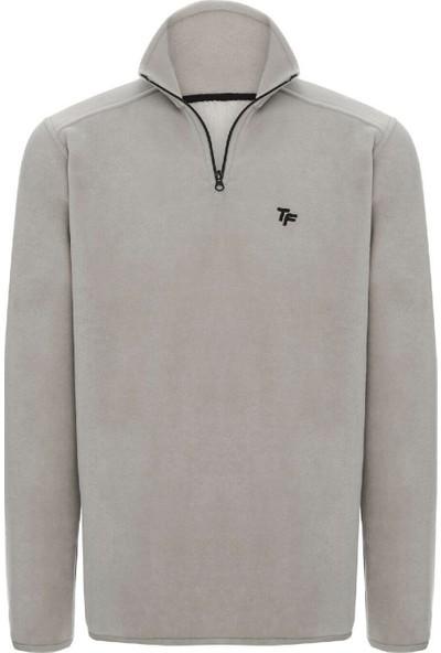 Thermoform 19031 Erkek Polar Sweatshirt Gri
