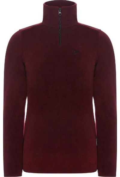 Thermoform 19032 Kadın Polar Sweatshirt Bordo