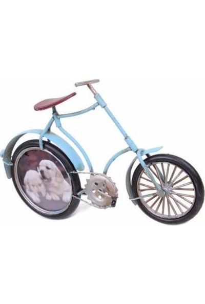 MNK El Yapımı Boyalı Dekoratif Metal Bisiklet Çerçeveli