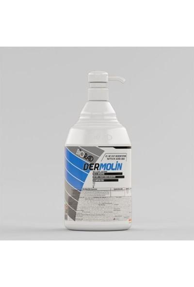 Biorad Dermolin %77 Alkol Bazlı Elit El ve Cilt Dezenfektanı 1000 ml Pompalı