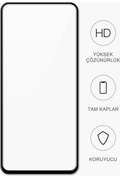 Volente Huawei P40 Lite E Parlak Kobra Ekran Koruyucu