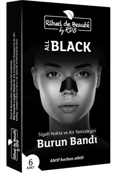 Rituel de Beaute Aktif Karbon Siyah Nokta ve Kir Temizleyici Burun Bandı 6 Kutu 36 Adet