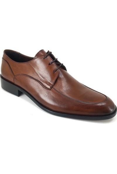 Oskar 439 Oskar Hakiki Kösele Günlük Erkek Ayakkabı-Kahverengi