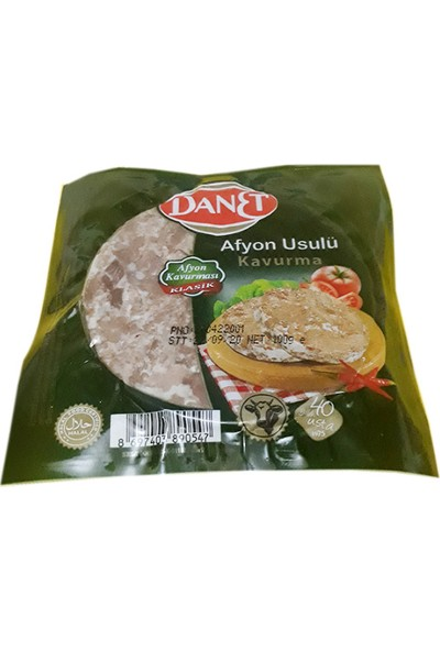 Danet Afyon Usulü Kavurma 100 gr