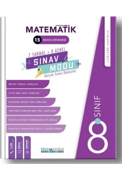 Pruva Akademi LGS Matematik 15 Branş Denemesi