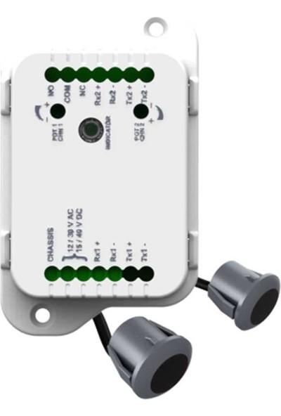 Kontal Caf1 Fotoselli Kapı Emniyet Fotoseli (2 Göz+1 Kontrol Ünitesi)