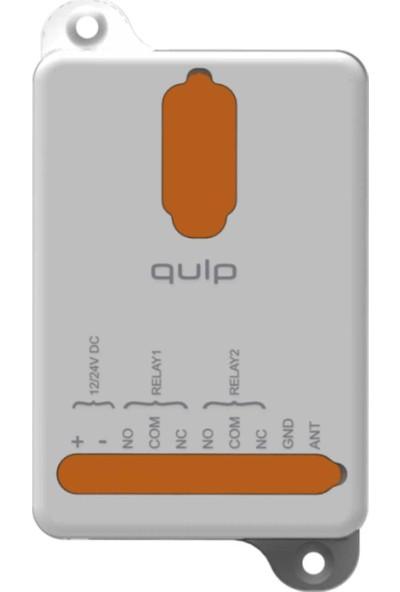 Kontal Qulp Serisi 12/24 Volt Kuru Kontak Alıcı Kart - 2 Kanal (868 Mhz)