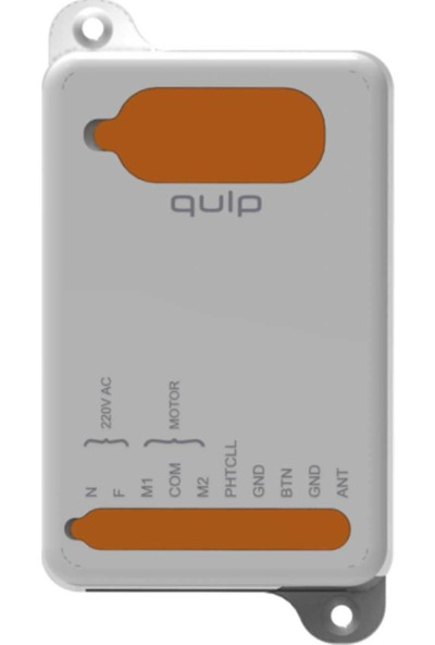Kontal Qulp Serisi Panjur/kepenk Alıcı Kart - (868 Mhz)