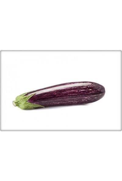 Arzuman Çizgili Patlıcan Tohumu (10 Gr) Alaca Patlıcan