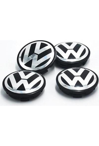 Araba Alışveriş Volkswagen Jetta 2012-2017 Jant Göbeği Kapak Seti (4 Adet)