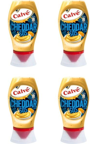 Calve Cheddar Sos 240 gr x 4
