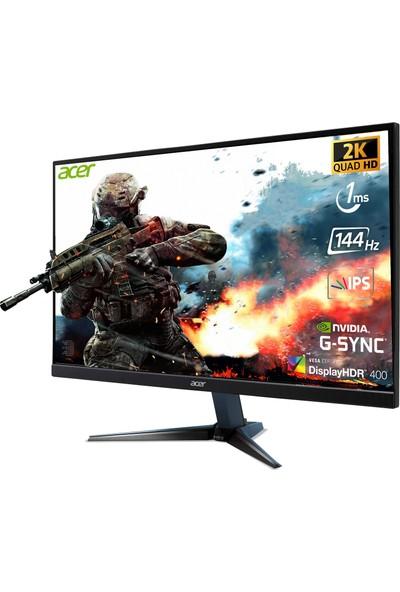 "Acer VG272UP 27"" 144 Hz 1ms (HDMI+Display) G-Sync QHD IPS Monitör UM.HV2EE.P01"